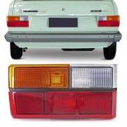 Lanterna Traseira Gol BX 1980 a 1986 Tricolor