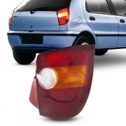 Lanterna Traseira Palio 1996 a 2000 Tricolor