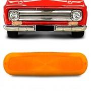 Lente Lanterna Dianteira C10 C14 1964 a 1982 Ambar