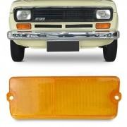 Lente Lanterna Dianteira Fiat 147 1976 a 1979 Ambar