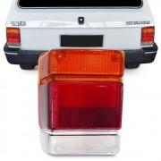 Lente Traseira Chevy 1983 a 1994 Marajo Tricolor