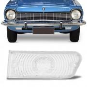 Lente Dianteira Corcel 1973 a 1974 Gt Luxo Cristal