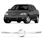 Moldura Grade Astra 2003 a 2010 Frontal Cromada