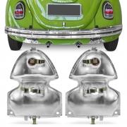 Par Soquete Lanterna Traseira Fusca 1300L 1500