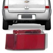 Refletor Traseiro Parachoque Meriva 2003 a 2012 Rubi