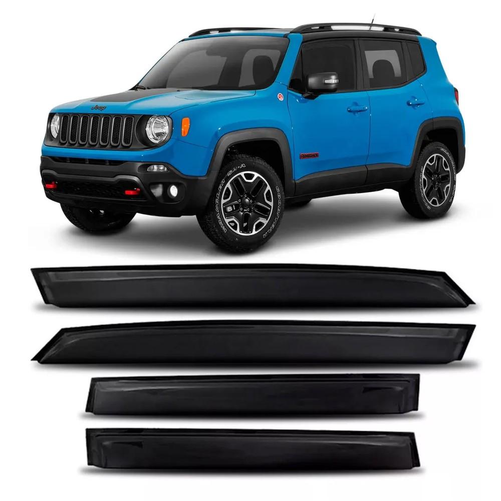 Calha Chuva Jeep Renegade 2015 a 2020 4 Portas