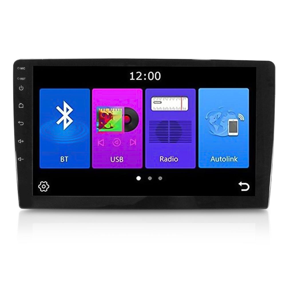 Central Multimídia Mp8 Plus 9 Polegadas Bluetooth 1Din Mp3 Usb Full Touch