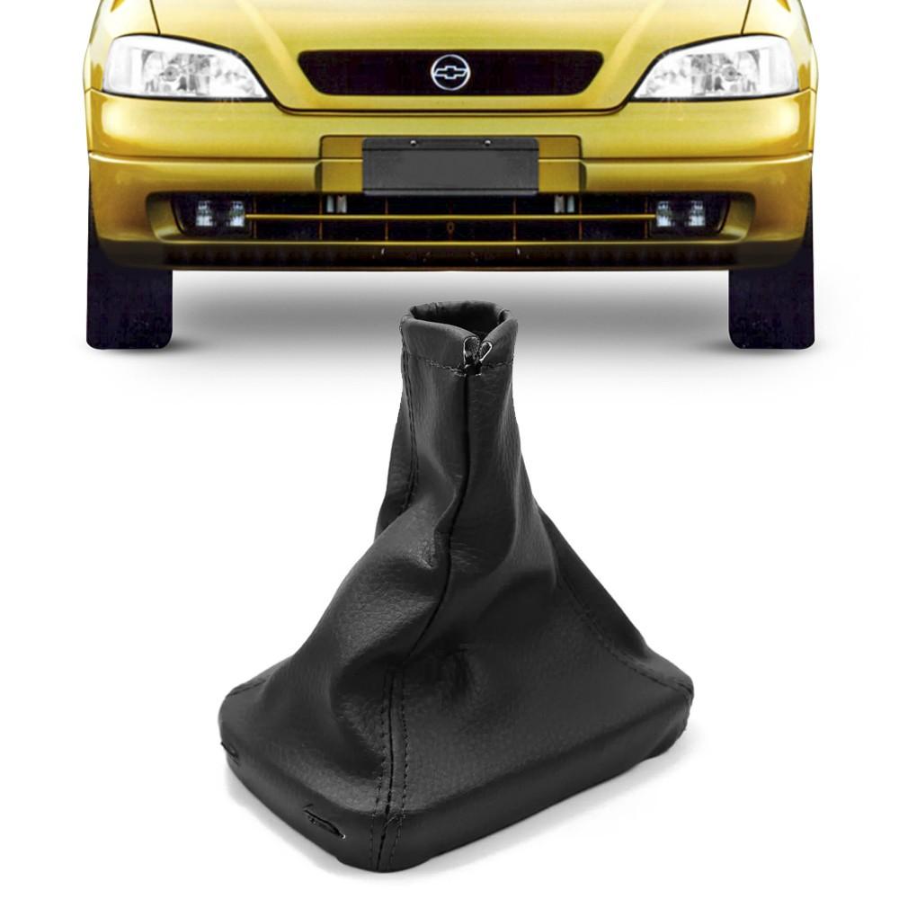 Coifa Cambio Astra Hatch Sedan Zafira Napa Preta