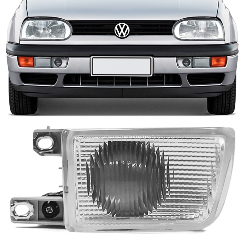Farol Milha Golf GTI GL GLX Alemao 1993 a 1998