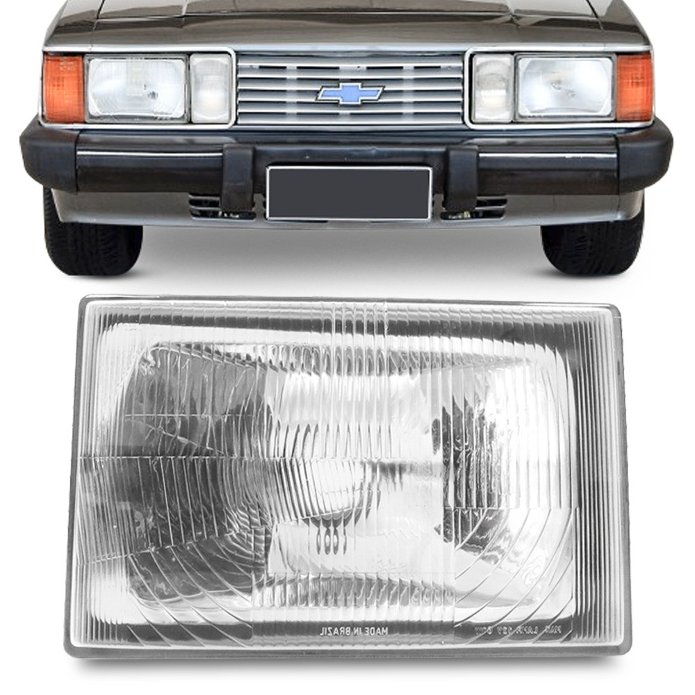 Farol Opala Caravan 1980 a 1987 D20 D40 1980 a 1992