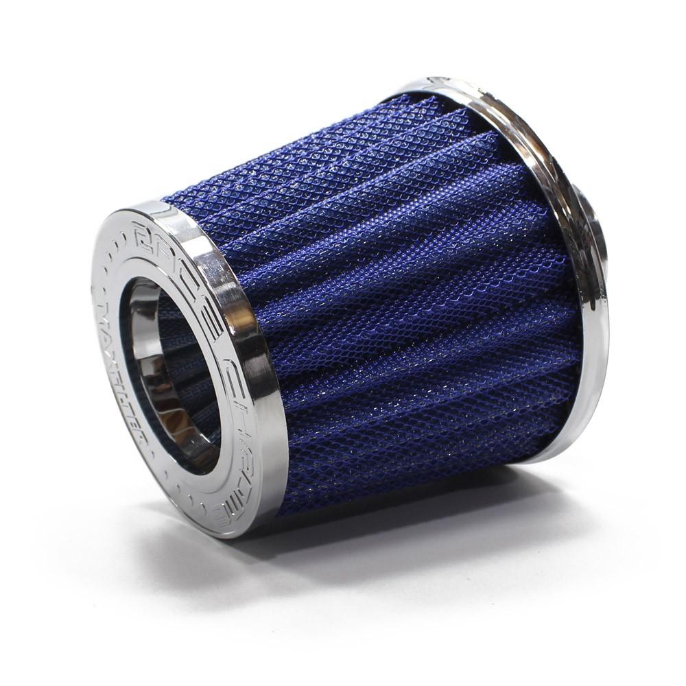 Filtro Ar Esportivo Duplo Fluxo Grande Universal Aluminio Maxx 62mm 70mm