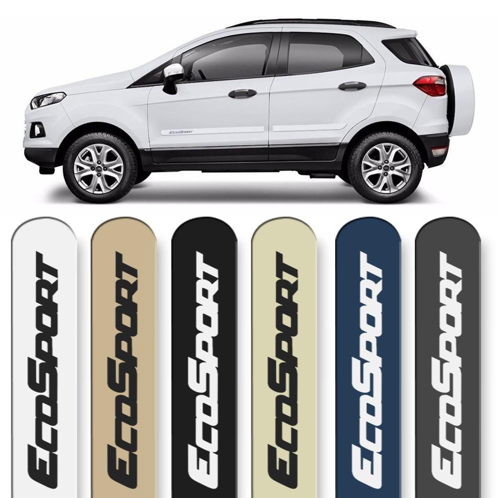 Friso Lateral Ecosport 2013 a 2019 Cores