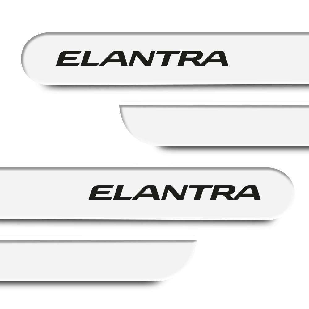 Friso Lateral Elantra 2010 a 2018 Cores
