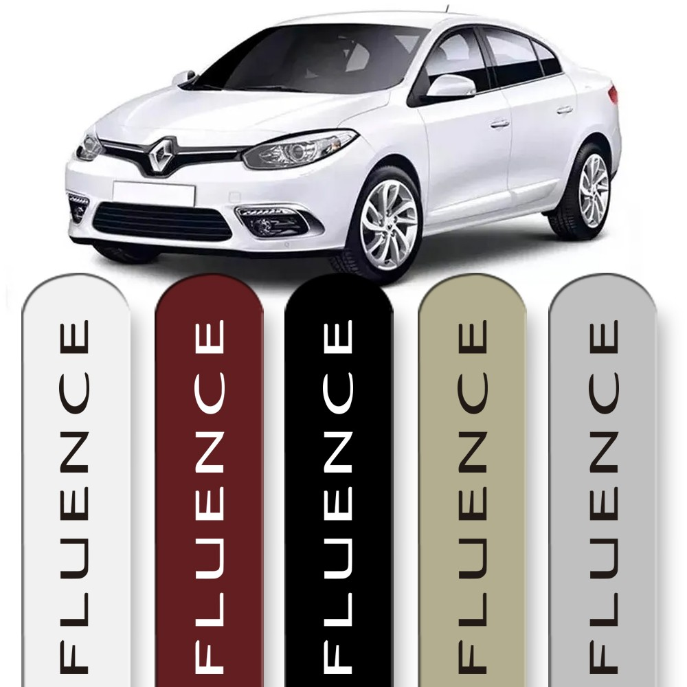 Friso Lateral Fluence 2011 a 2018 Cores