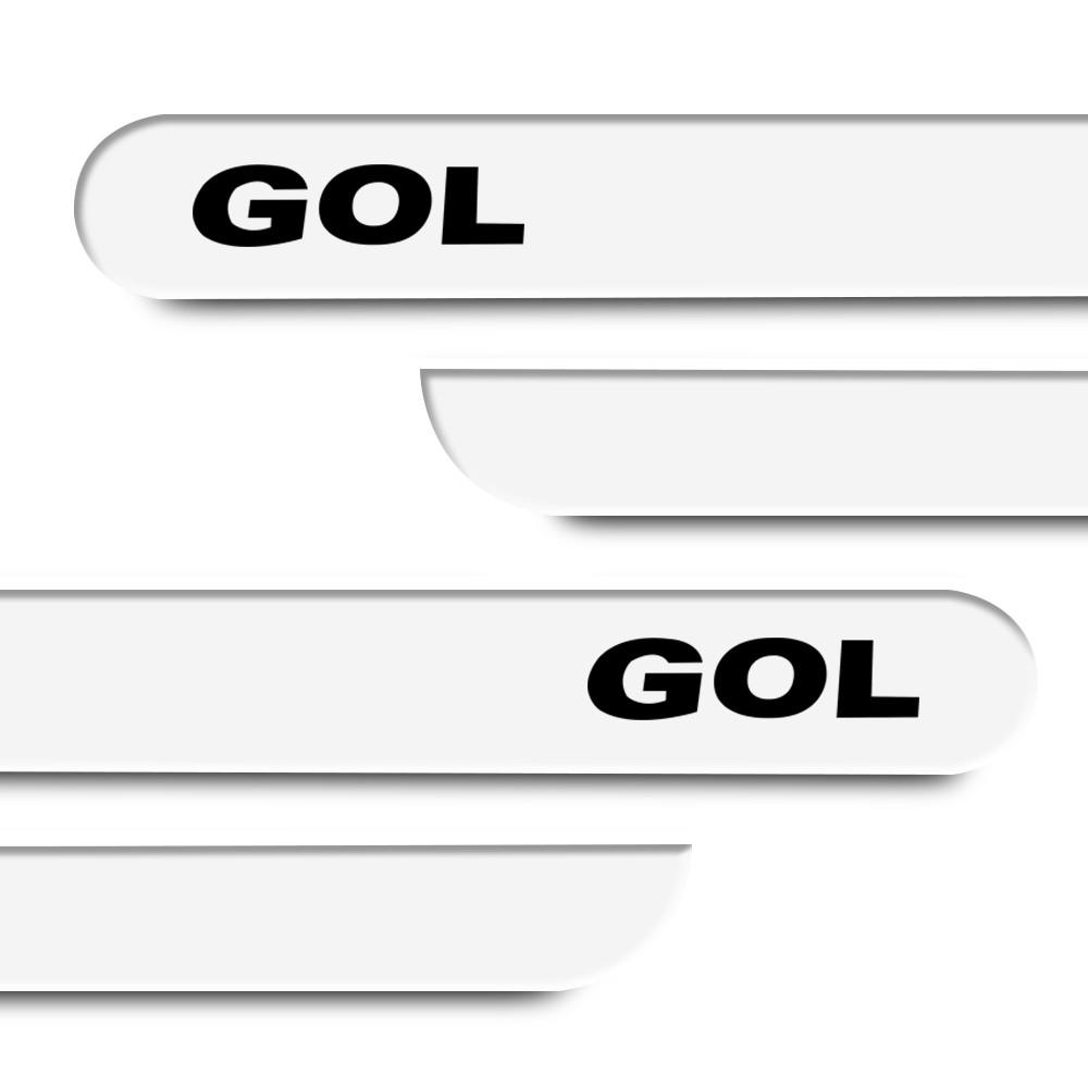 Friso Lateral Gol G5 2008 a 2012 Preto Ninja  Cores
