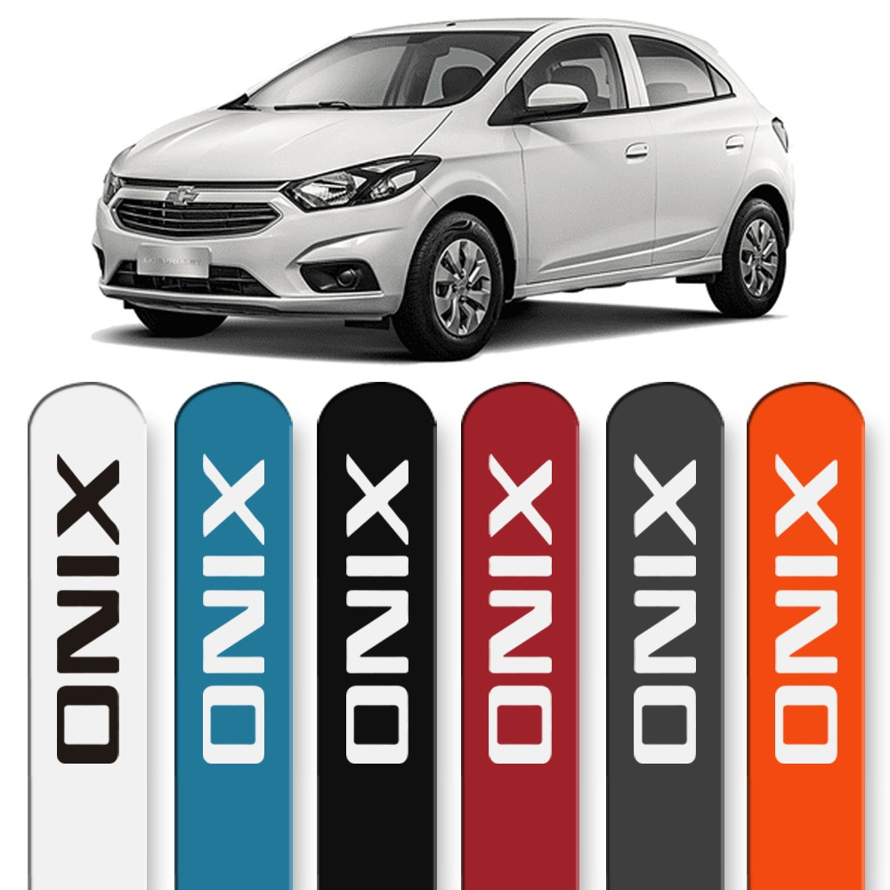 Friso Lateral Onix 2013 a 2019 Cores