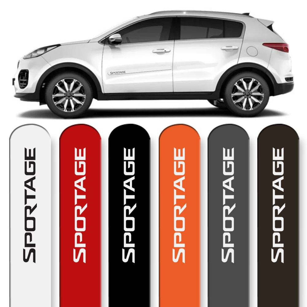 Friso Lateral Sportage 2011 a 2019 Cores