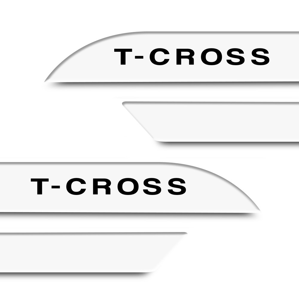 Friso Lateral T-Cross 2019 a 2021 Facao Cores