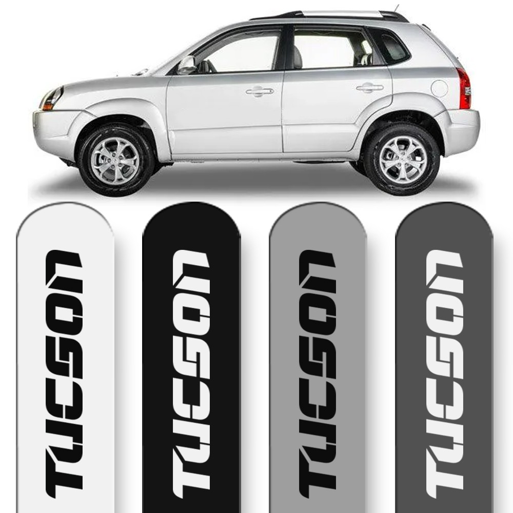 Friso Lateral Tucson 2005 a 2017 Cores