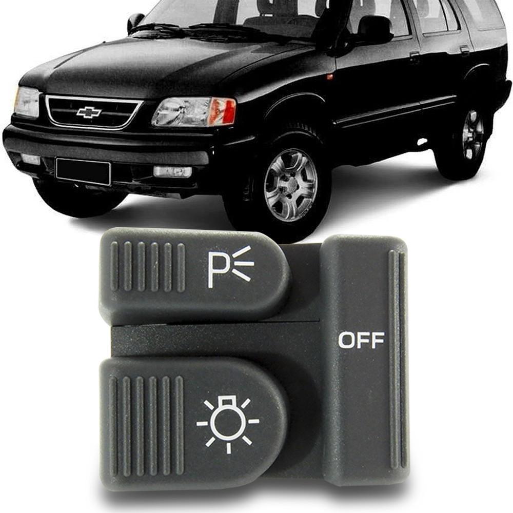 Interruptor Farol S10 Blazer 1995 a 1999 S-10