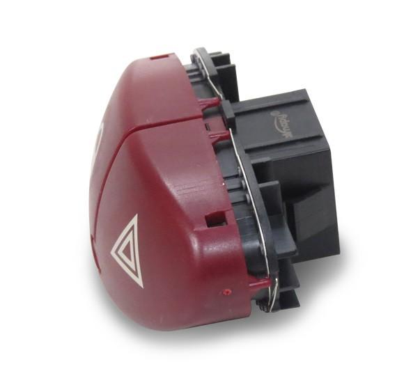 Interruptor Pisca Alerta Trava Eletrica Peugeot 206 2001 a 2008