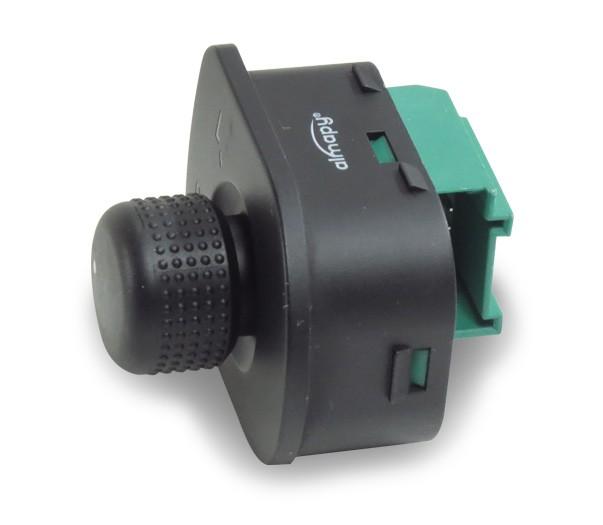 Interruptor Retrovisor Eletrico Gol Voyage Saveiro G5 2009 a 2011 Golf 1998 a 2012 Fox