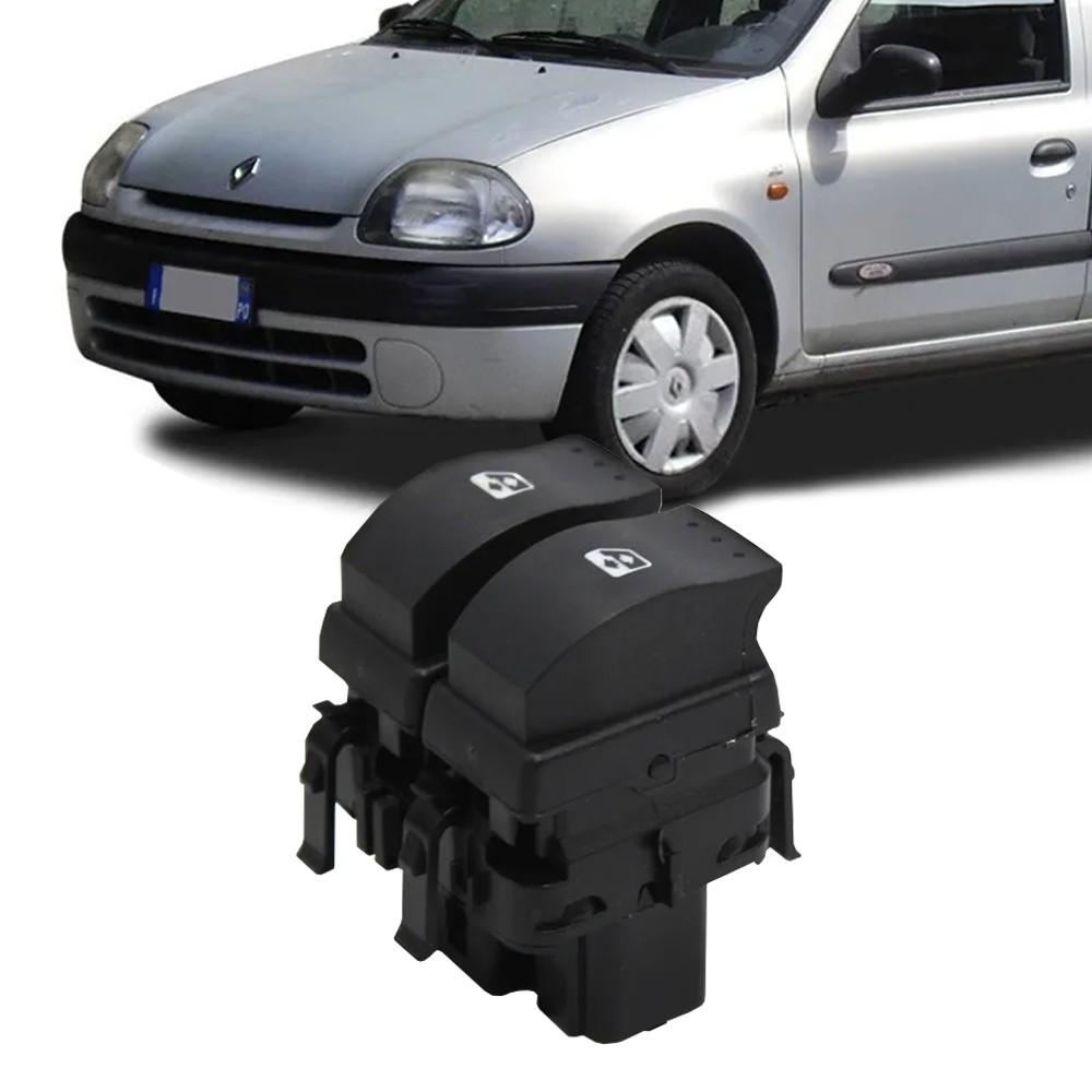 Interruptor Vidro Eletrico Clio 1996 a 1999 Duplo Motorista