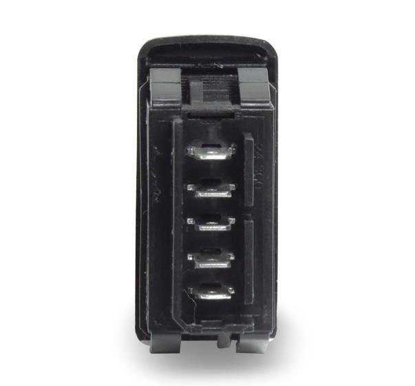 Interruptor Vidro Eletrico Clio 1999 a 2013 Simples 5 Pinos