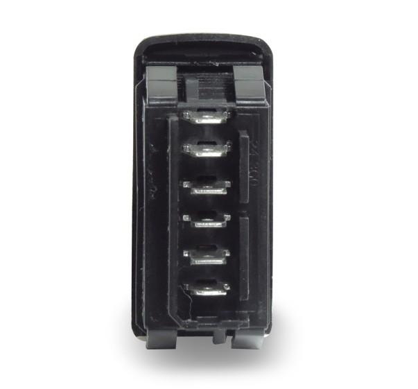 Interruptor Vidro Eletrico Clio 1999 a 2013 Simples 6 Pinos