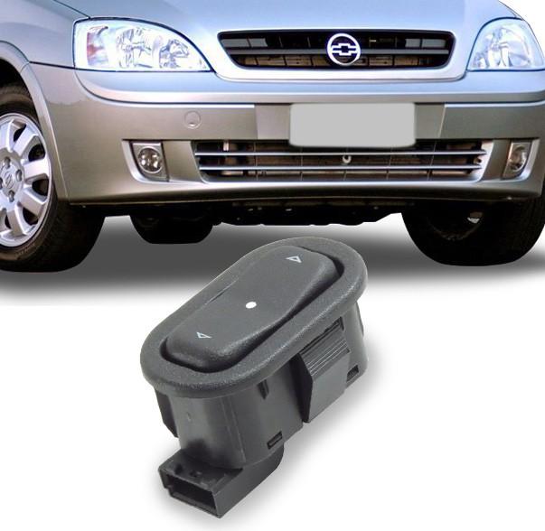 Interruptor Vidro Eletrico Corsa 2002 a 2012 Simples Traseiro