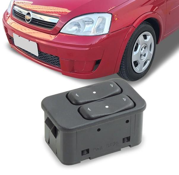 Interruptor Vidro Eletrico Corsa Celta 2002 a 2012 Ambar Duplo Motorista
