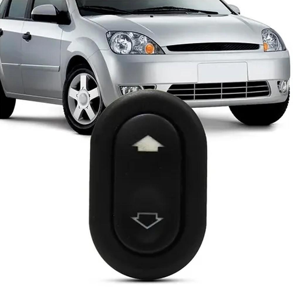 Interruptor Vidro Eletrico Fiesta Amazon Ecosport 2003 a 2014 Simples Passageiro