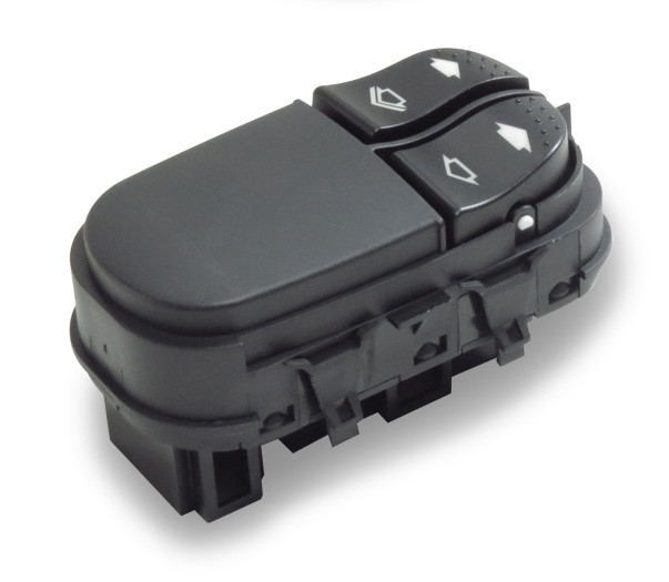 Interruptor Vidro Eletrico Focus 2000 a 2008 Duplo 6 Pinos Console