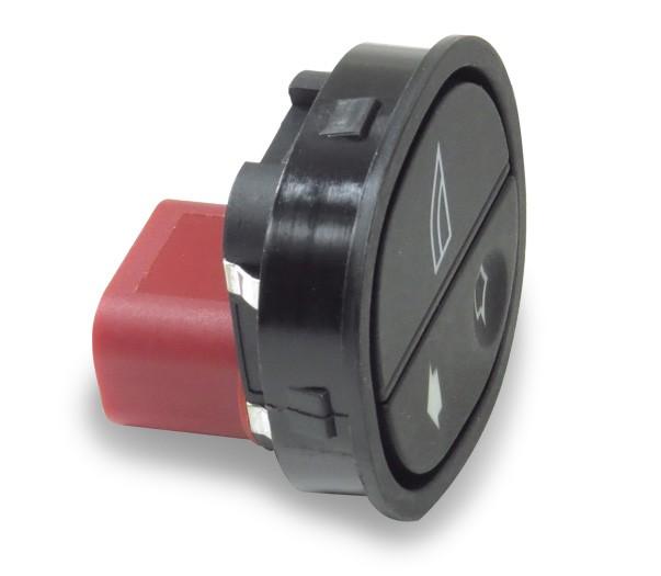 Interruptor Vidro Eletrico Ford Ka 2008 a 2014 Simples Passageiro
