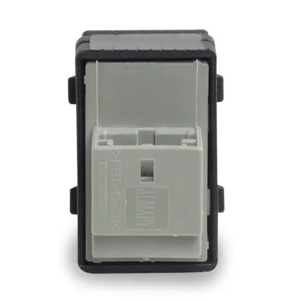 Interruptor Vidro Eletrico Gol G4 G5 Fox Simples 1 Estagio