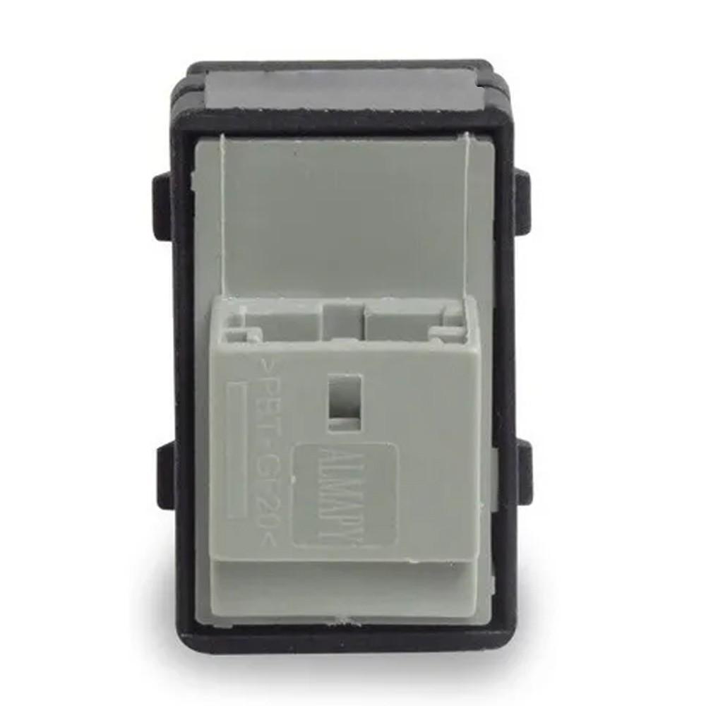 Interruptor Vidro Eletrico Gol G4 G5 Fox Simples 2 Estagios