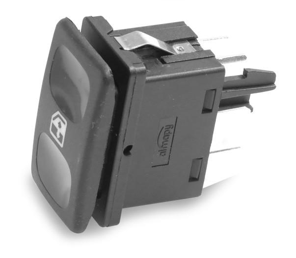 Interruptor Vidro Eletrico Gol Parati Saveiro Voyage Quadrado 1980 a 1995 Simples