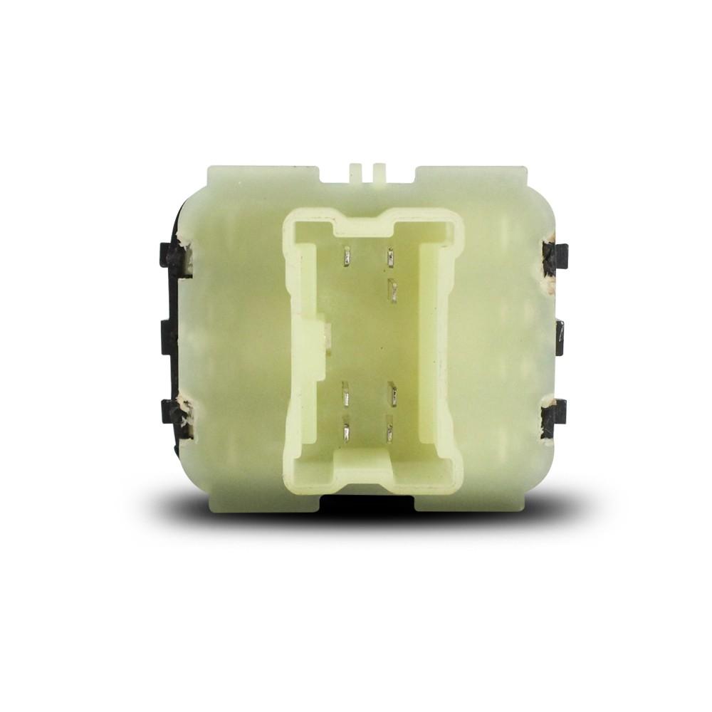 Interruptor Vidro Eletrico Logan Sandero Duster Oroch 2015 a 2018 Duplo Base Branca