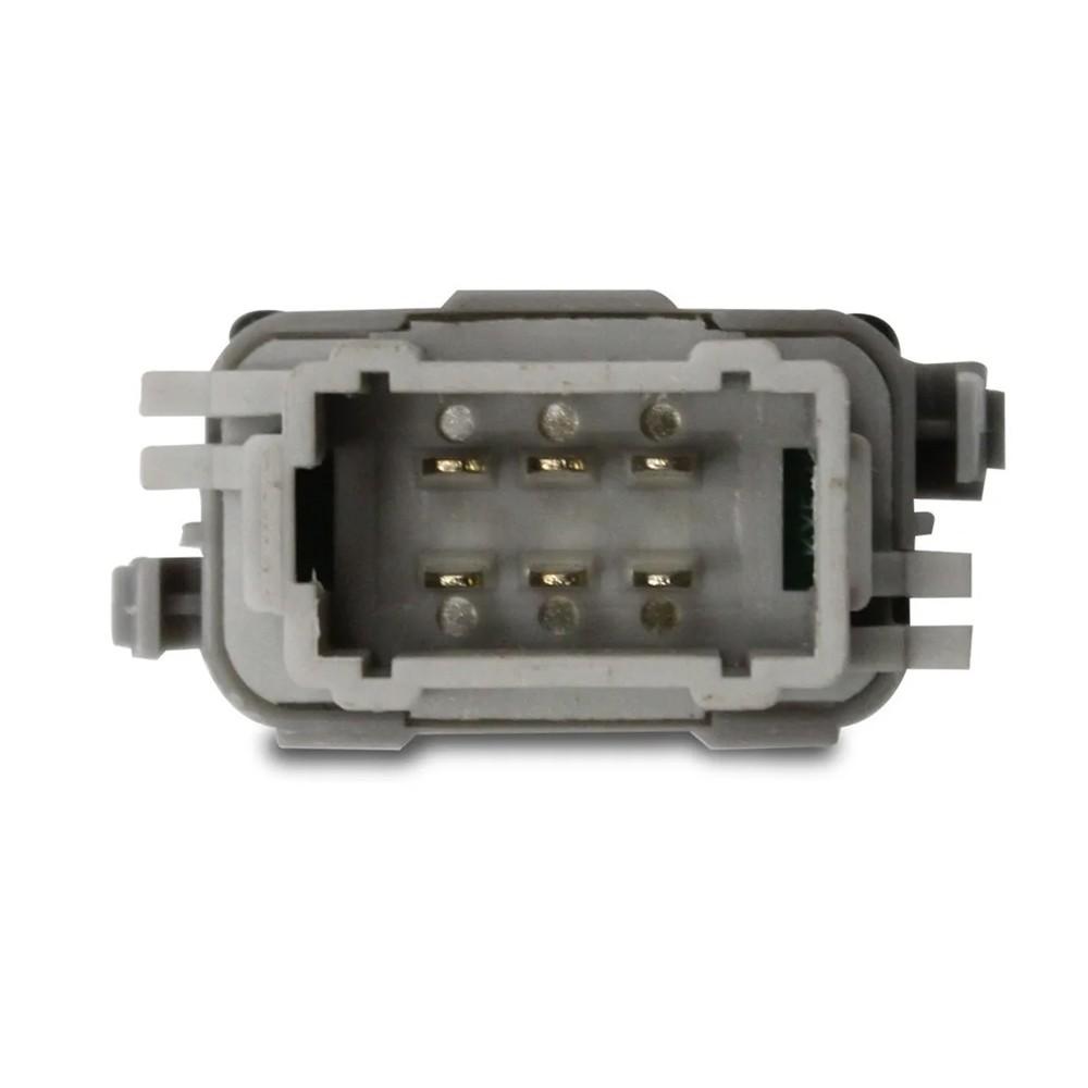 Interruptor Vidro Eletrico Megane 2006 a 2020 Simples Passageiro