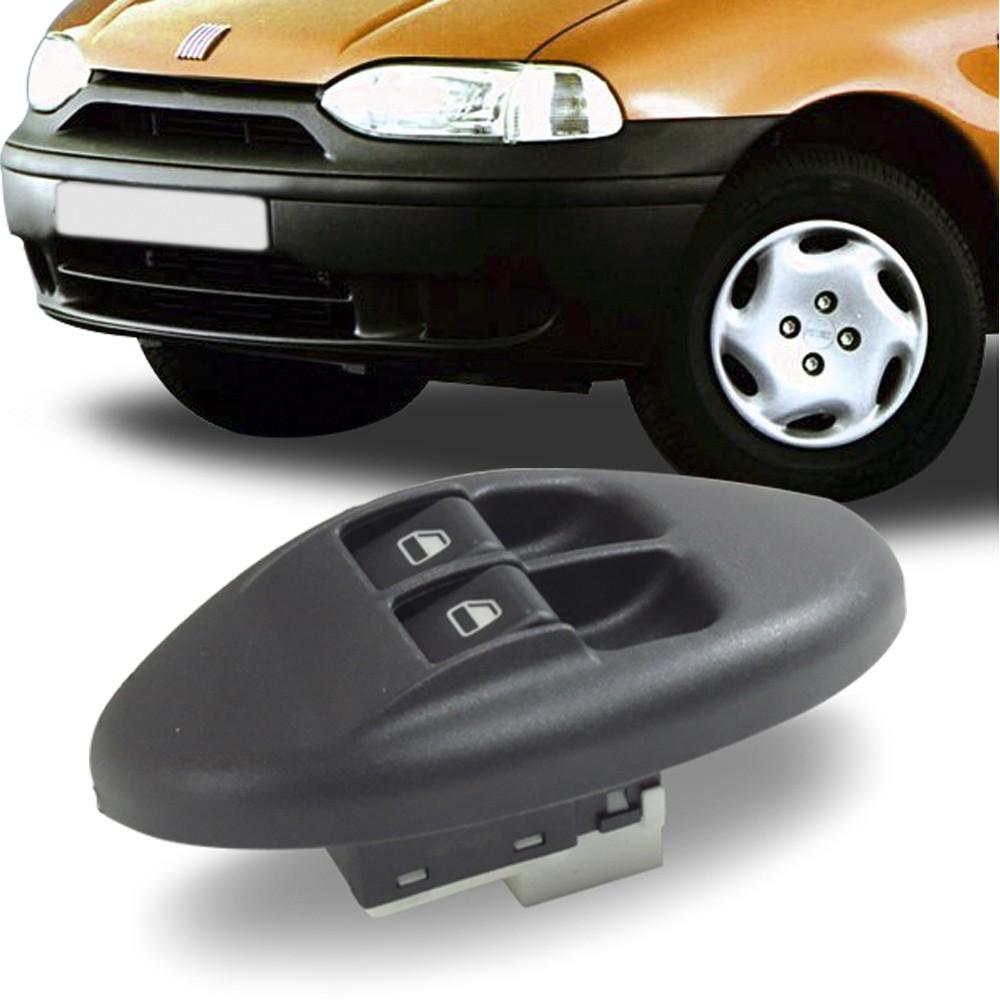 Interruptor Vidro Eletrico Palio 1997 a 2000 Palio Young 2001 a 2002 Duplo Motorista