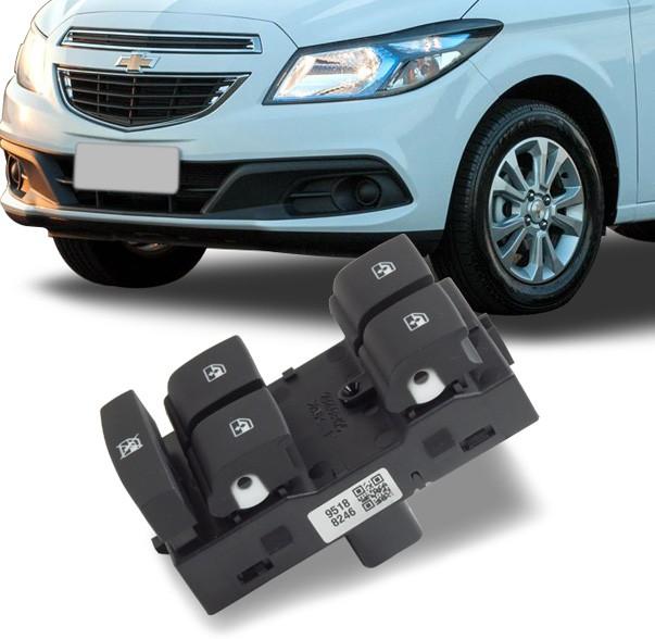 Interruptor Vidro Eletrico Prisma Onix 2013 a 2020 Quadruplo Motorista