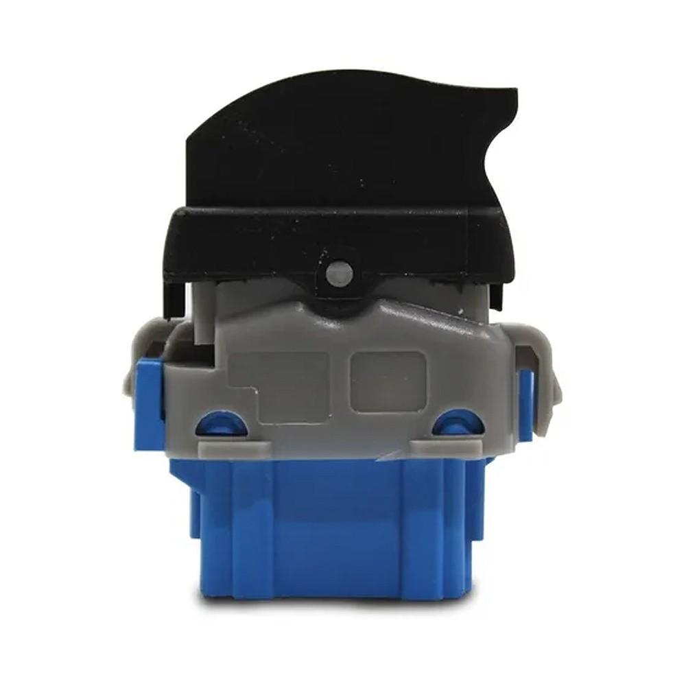 Interruptor Vidro Eletrico Sandero Duster 2011 a 2016 Base Azul Simples Passageiro