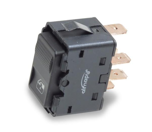 Interruptor Vidro Eletrico Santana Quantum 1991 a 1998 Simples 5 Pinos