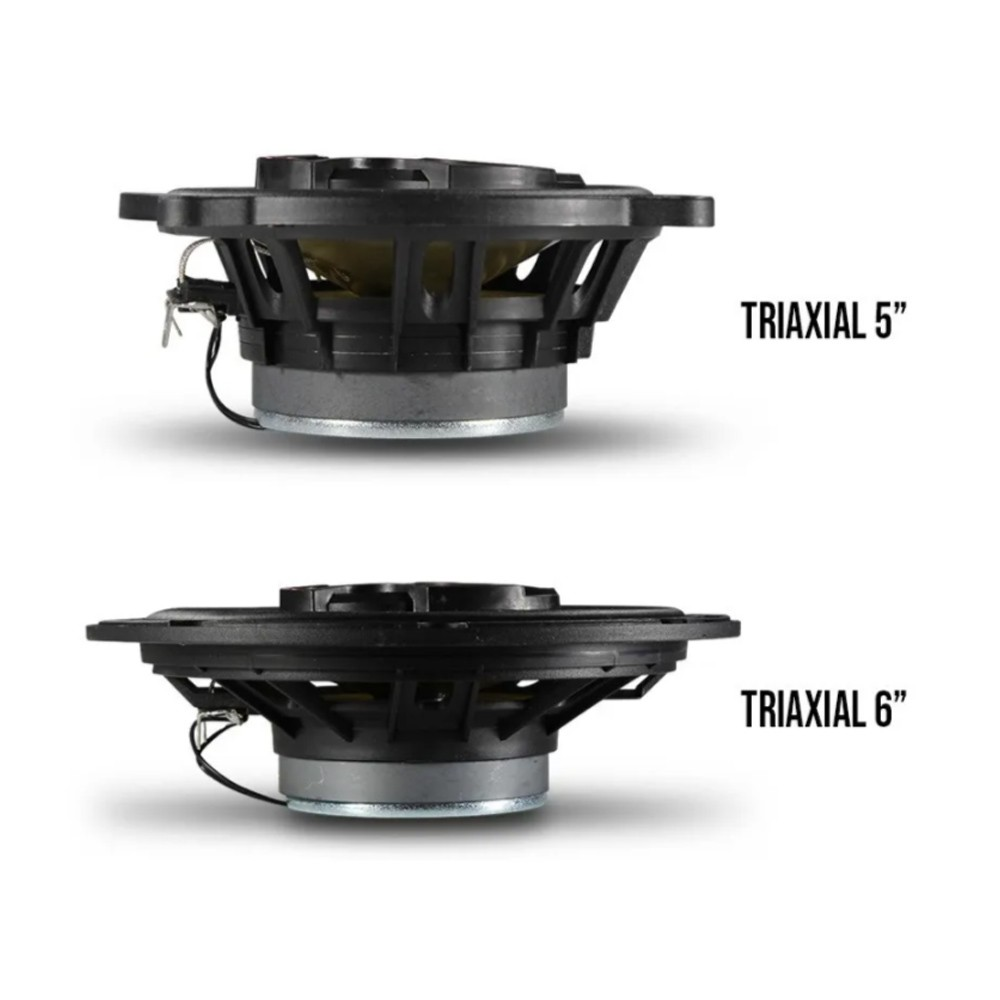 "Kit Alto Falante Bravox Triaxial 5"" 6"" Corsa Wind Wagon Sedan"