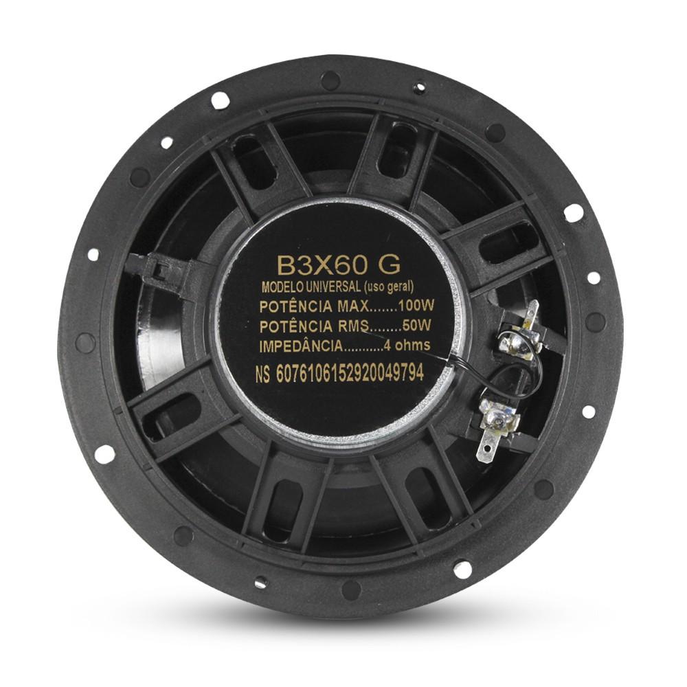 """Kit Facil Bravox Linha Gold Alto Falante 6x9"""" 140Wrms e 6"""" 100Wrms"""