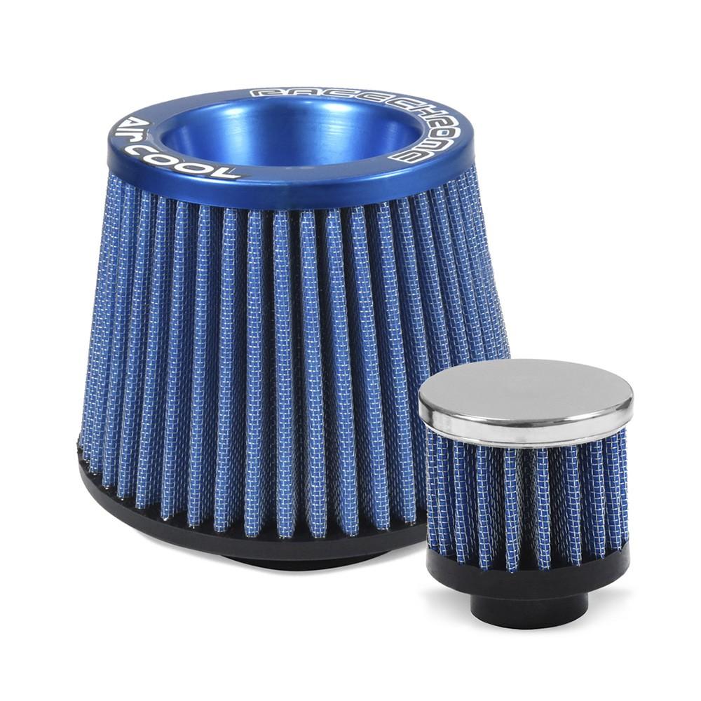 Kit Filtro Palio Siena Strada G2 G3 1.0 1.3 1.4 Intake Azul