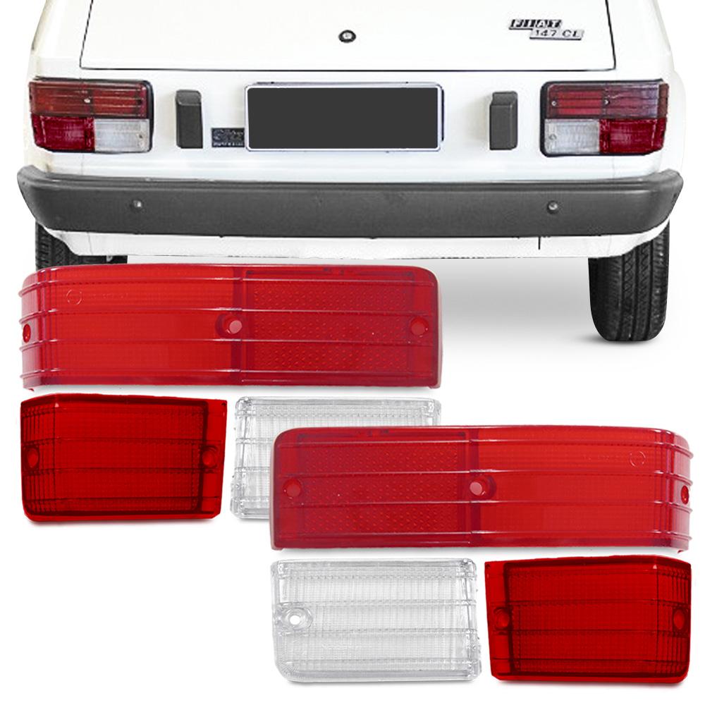 Kit Lente da Lanterna Traseira Fiat 147 1977 a 1984 Rubi