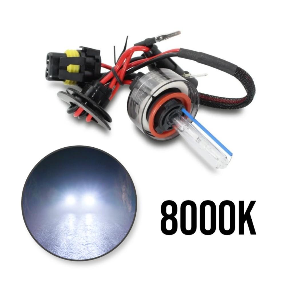 Kit Xenon Automotivo 8000K