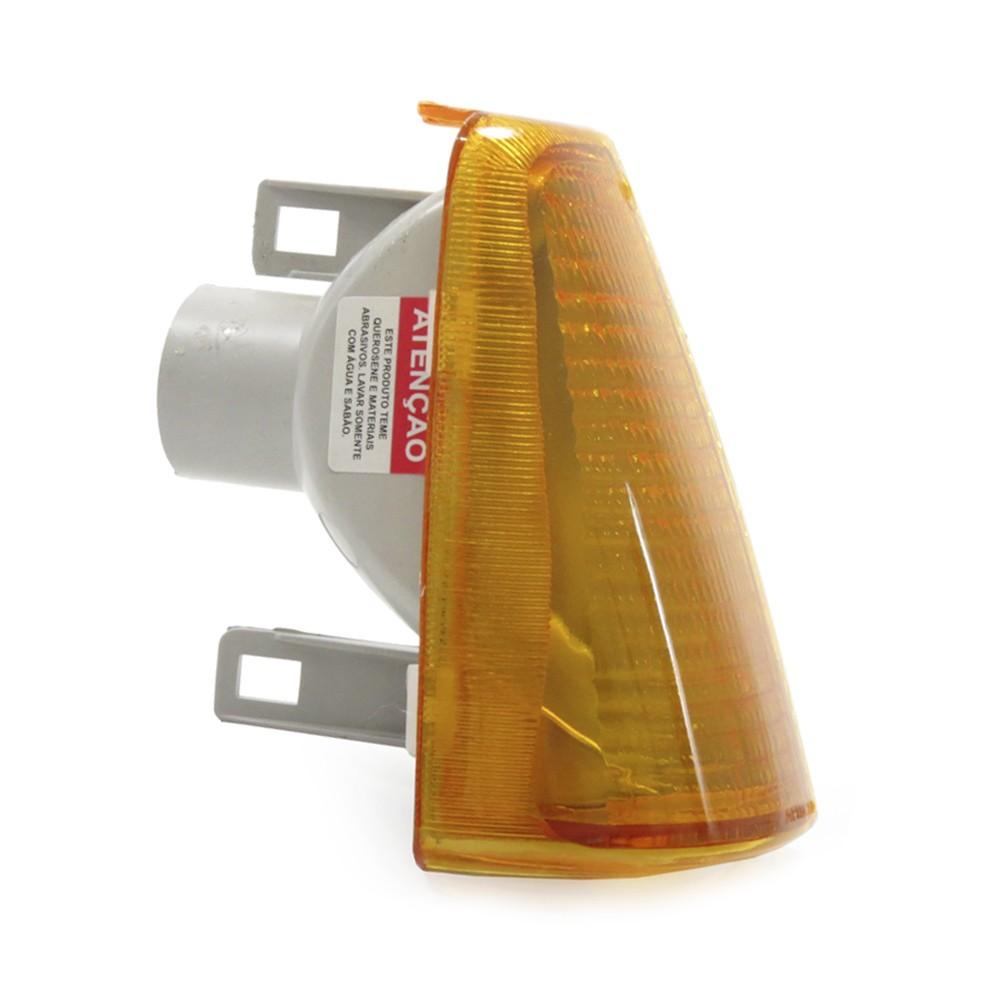 Lanterna Dianteira Chevette 1983 a 1996 Chevy Marajo Pisca Ambar Encaixe Cibie