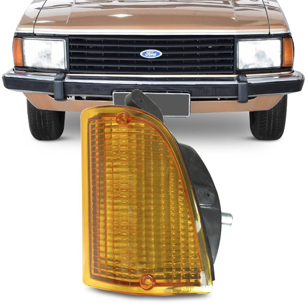Lanterna Dianteira Corcel 2 1978 a 1984 Belina Pampa Pisca Ambar